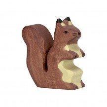 Ecureuil marron en bois - Holztiger