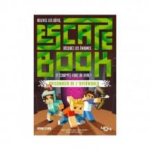 Escape Book - Minecraft prisonnier de l'Overworld - 404 Éditions