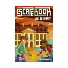 Escape Book - Vol au musée - 404 Éditions