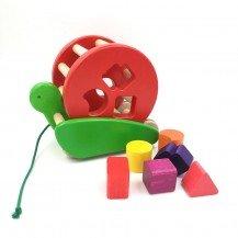Escargot boîte à formes rouge - Fabricant européen