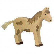 Cheval en bois - Figurines Holztiger