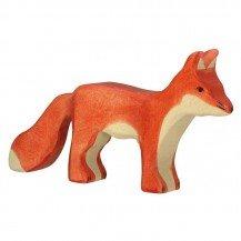 Renard en bois - Figurines Holztiger