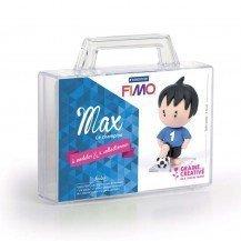 Kit de modelage Figurine Pâte Fimo Max le champion - Staedtler