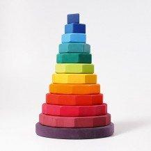 Grande tour géométrique à empiler - Grimm's