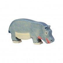 Hippopotame mangeant - Holztiger