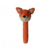 Hochet Renard en crochet - Fabricant Espagnol
