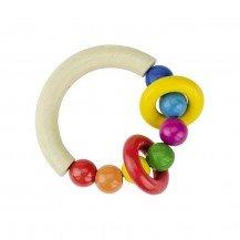 Hochet demi-cercle avec anneaux - Heimess