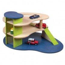 Garage en bois 3 niveaux - JB Bois