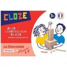 Jeu de construction Cloze Chevronnée 102 pièces - Cloze