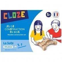 Jeu de construction Cloze Suite 102 pièces - Cloze