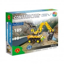 Jeu de construction - Mini-Pelle 189 pièces - Alexander Toys