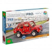 Jeu de construction Pro - Voiture rouge 732 pièces - Alexander Toys