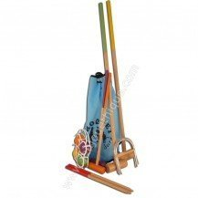 Jeu de croquet dans un sac mixte - Artisan du Jura