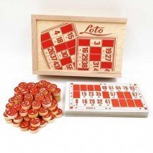 Jeu de loto 24 cartes - Artisan du Jura