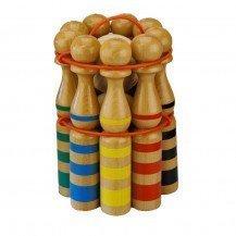 Jeu de 9 quilles en bois 24 cm - Artisan du Jura