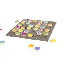 Jeu de Sudoku coloré - Milaniwood