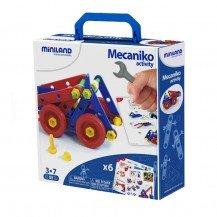 Jeu de construction Mecaniko 74 pcs - Miniland