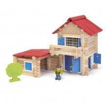 Maison en bois 140 pièces - Jeujura