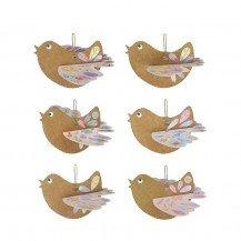 6 Oiseaux à créer - Pirouette Cacahouète