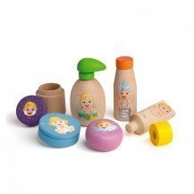 Kit d'hygiène en bois pour poupée - Fabricant Allemand