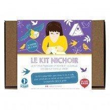 Kit de fabrication de nichoir pour oiseaux - Les Petits Radis