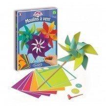Kit de création Moulins à vent - Sentosphère