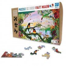Puzzle La Jungle 100 pcs - Puzzle Michèle Wilson