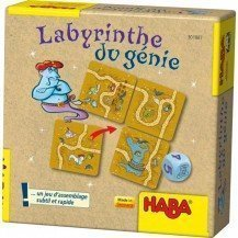 Le labyrinthe du génie - HABA