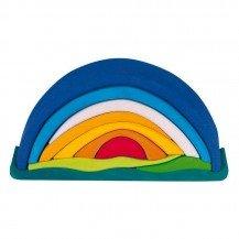 Lever de soleil bleu - 10 pièces - Nic Toys