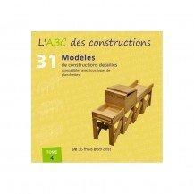 Livre ABC constructions avec des planchettes - tome 4 - Jouécabois