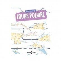 Livre - Suis du doigt l'ours polaire - Les Éditions La Cabane Bleue