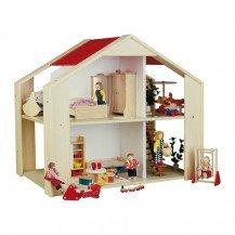 Maison de poupées contemporaine - Fabricant Allemand