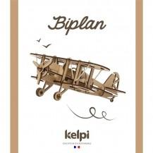 Maquette avion biplan à construire - Kelpi