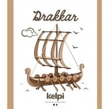 Maquette Drakkar à construire - Kelpi