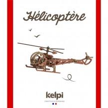 Maquette Hélicoptère à construire - Kelpi