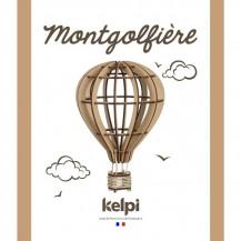 Maquette Montgolfière à construire - Kelpi