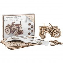 Puzzle 3D - Tracteur - Wooden City