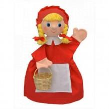 Marionnette Chaperon rouge 30 cm - Artisan Tchèque
