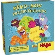 Mémo Math Petites bestioles - Haba