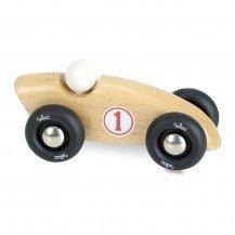 Mini voiture Compétition - bois naturel - Vilac