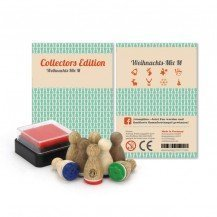 8 Mini-tampons Noël