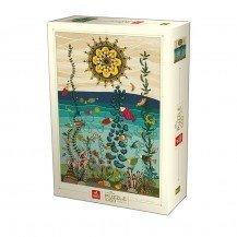 Puzzle 1000 pièces - Nature Océan - D-Toys