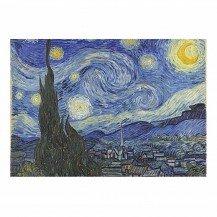 Micro Puzzle en bois La Nuit étoilée - 40 pièces - Wentworth