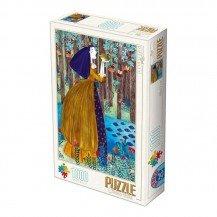 Puzzle 1000 pièces Kürti Andrea - La Princesse Grenouille - Dtoys