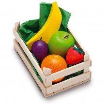 Petite cagette de fruits en bois - Fabricant Allemand
