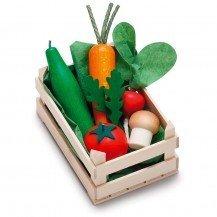 Petite cagette de légumes en bois - Fabricant Allemand