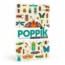 Poster découverte en stickers - Les Insectes - Poppik
