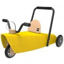 Porteur en bois jaune - Chou Du Volant