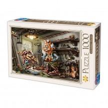 Puzzle 1000 pièces Biro Donat - Pinnochio - DToys