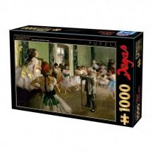Puzzle 1000 pièces Edgar Degas - La classe de danse - Dtoys